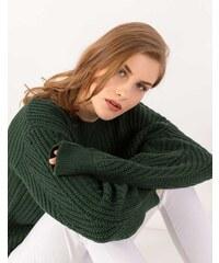 39caf94ef14c Issue Fashion Πουλόβερ σε χαλαρή πλέξη με στρογγυλή λαιμόκοψη