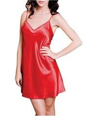 FMS Γυναικείο Νυφικό Νυχτικό - Σατέν 6524 Κόκκινο ef8362acd9f