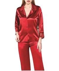 FMS Γυναικεία Νυφική Πυτζάμα 401 Κόκκινο 060b1543390