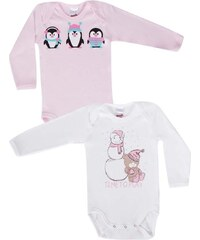 Minerva Φορμάκι Baby Μμ Κορίτσι Snowman - Διπλό Πακέτο Πολύχρωμο c06549fbdd5