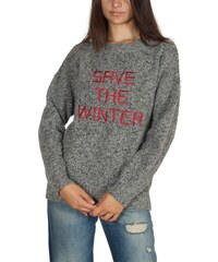 c5b29597b505 Thinking Mu Save the winter merino πουλόβερ γυναικείο γκρι μελανζέ