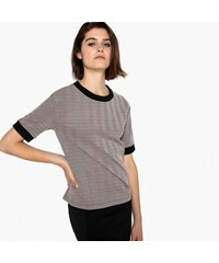 96c089d9cf7d LA REDOUTE COLLECTIONS Κοντομάνικη ζακάρ μπλούζα