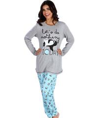 Πυτζάμα Γυναικεία Minerva Penguin - 100% Βαμβάκι Interlock - All Over Σχέδιο  - Hot Pick 674f8204931