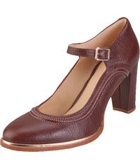 Κλειστά παπούτσια CLARKS - Ellis Mae 261351074 Tan Leather - Glami.gr 067825bab03