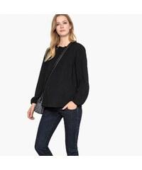 LA REDOUTE COLLECTIONS Μακρυμάνικη μπλούζα εγκυμοσύνης με λαιμό ... 079fbbf0eb1