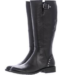 Tamaris Γυναικείες Μπότες 25611 Μαύρο Δέρμα 00860e3354e