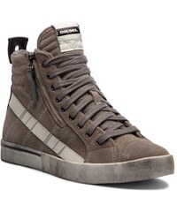55ba01703d0 Αθλητικά DIESEL - D-Velows Mid Lace Y01759 P1834 T8066 Elephant Skin