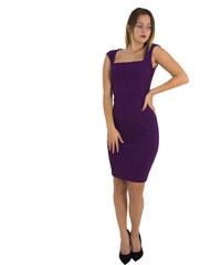 d47bfc5055 No Stress Γυναικείο ώχρα Scuba midi φόρεμα μονόχρωμο 8305129G - Glami.gr