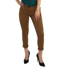 836b6ac120 Huxley   Grace Γυναικείο εκάι υφασμάτινο Chinos παντελόνι σωλήνας 170795C