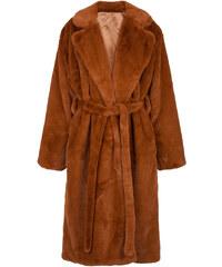 Celestino Μακρύ παλτό από οικολογική-συνθετική γούνα WL673.7264+1 34c95eea81a