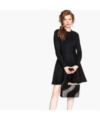 177cb1657f0c MADEMOISELLE R Πλεκτό εβαζέ φόρεμα με στρογγυλή λαιμόκοψη