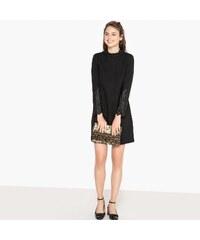 3b99616cc00e MADEMOISELLE R Κοντό μονόχρωμο φόρεμα σε ίσια γραμμή