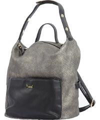 Γυναικεία τσάντα σακίδιο-ώμου Posset 8550 σε μαύρο χρώμα εως 6 άτοκες δόσεις 271aa785068