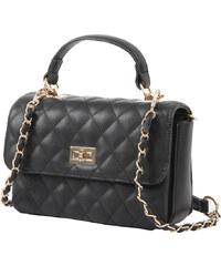 Γυναικεία τσάντα χεριού-ώμου Posset 8534 σε μαύρο χρώμα έως 6 άτοκες δόσεις 88381281b2f