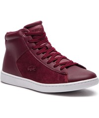 634d25417f Αθλητικά LACOSTE - Carnaby Evo Mid 318 1 Spw 7-36SPW00172H2 Burg Wht