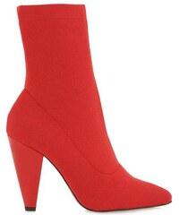 155fd5e3f84 Exe Bruna 756 Κόκκινα Ελαστικά Γυναικεία Μποτάκια Exe bruna 756 red