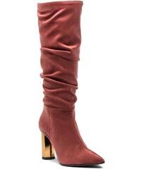 54b7e6b2f6f Ροζ, Έκπτώση άνω του 50% Γυναικείες μπότες και μποτάκια αστραγάλου ...