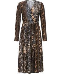 Celestino Midi κρουαζέ φόρεμα σε animal print WL8438.8001+1 acfc2573fd0