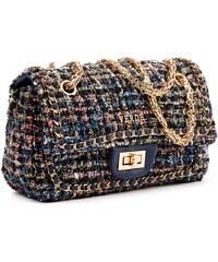 Τσάντα γυναικεία Ωμου Verde 16-4927-Μπλε 16-4927-Μπλε b1a67d8a2ae