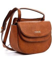 Τσάντα γυναικεία χιαστί Verde 16-4899-Καμελ 16-4899-Καμελ 10f6cd8a6b9