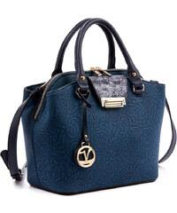 Τσάντα γυναικεία Verde 16-4887-Μπλε 16-4887-Μπλε 64b158d17b4