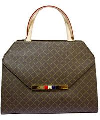 Τσάντα γυναικεία La tour Eiffel 132041-1-Καφέ 132041-1-Καφέ d78d7c1ba1b