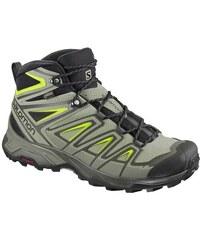 b2ef6e8a98 Αδιάβροχα ορειβατικά μποτάκια ανδρικά Salomon X Ultra 3 Mid GTX Gore-Tex  Beluga 401663 Πράσινο