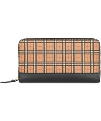 9ad29373a9 Burberry House Check continental wallet - Yellow