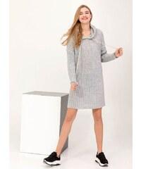 03c6c8592e2e The Fashion Project Suede φόρεμα με άνοιγμα στην πλάτη - Γκρι - 001 ...