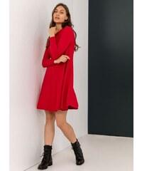 The Fashion Project Mini λεπτό πλεκτό φόρεμα σε άλφα γραμμή - Κόκκινο - 009 d1abd48c715