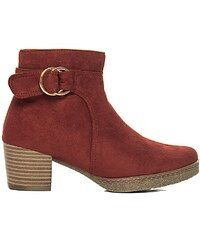 a03a78669a3 Γυναικείες μπότες και μποτάκια αστραγάλου Μπορντό | 450 προϊόντα σε ...