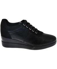 Geox Stardust D8430A 09DAF Μαύρα Γυναικεία Sneakers Geox D8430A 09DAF C9999  BLACK 3f9f8fb777c