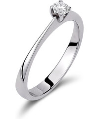 Haritidis Μονόπετρο δαχτυλίδι από λευκό χρυσό 18 καρατίων με διαμάντι  0.18ct. SKP09330 e5675b3afad
