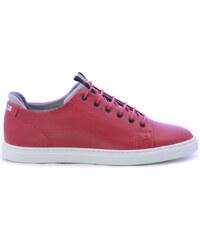 407d06db19a6 BRAD&CO Δερμάτινα Casual Σε Κόκκινο Χρώμα