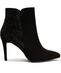Exe Shoes Γυναικεία Μποτάκια Μadison-256 Πούρο Καστόρι EXE MADISON ... a1c393e6b18