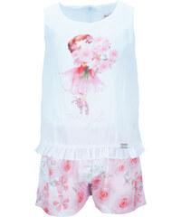 b34149e180e Παιδική Ολόσωμη Φόρμα Εβίτα 186250 Λευκό Κορίτσι