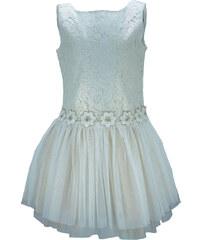 7cf7e7e73af M&B kid s fashion Παιδικό Φόρεμα M&B 8927 Εκρού Κορίτσι