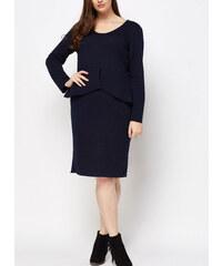 7dd4914d85ba maniags Φόρεμα Midi με Ανάγλυφο Σχέδιο