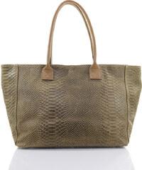 Passaggio Leather Shopping Bag Τσάντα Ώμου Από Γνήσιο Δέρμα Handmade In  Italy OEM 9920-KR f58807cc8a0
