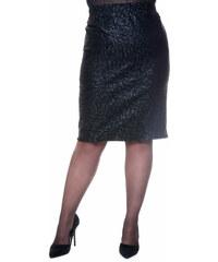 Happysizes Φούστα Crush ελαστική με crackeled σχέδιο 8094bf00af8