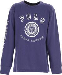 9beecd6e796d Ralph Lauren Παιδικά Αγορίστικα Μπλουζάκια Σε Έκπτωση, Μπλε, Κοτόν, 2019, XL