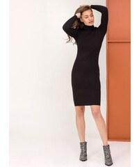 The Fashion Project Ριπ εφαρμοστό φόρεμα με ζιβάγκο - Μαύρο - 06085002009 405277f8926