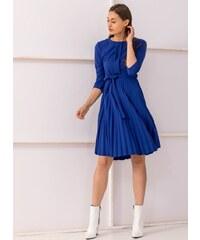 c2153008281a The Fashion Project Πλισέ φόρεμα με πιέτα στο μπούστο - Μπλε - 001