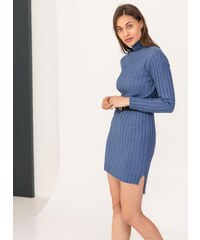 The Fashion Project Ριπ φόρεμα σε εφαρμοστή γραμμή - Ραφ - 06048069013 6be10c8a008