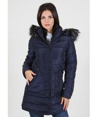 Γυναικείο Μπουφάν Parka High Blue SMALL 1ce1f0182fc