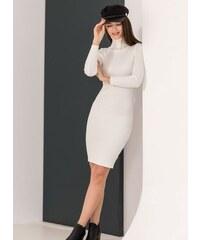 The Fashion Project Ριπ εφαρμοστό φόρεμα με ζιβάγκο - Λευκό - 06085001009 93e6e442a3a
