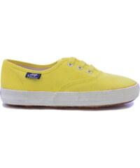 3b99a6b73ba UNITED COLORS OF BENETTON Πάνινα Παπούτσια Σε Κίτρινο Χρώμα