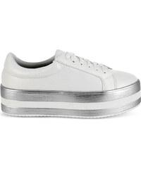 Γκρι Γυναικεία sneakers από το κατάστημα Tsoukalas-shoes.gr  944f942a9db