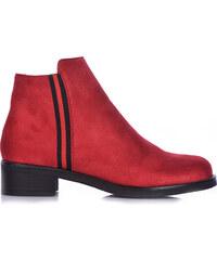 Κόκκινα Γυναικείες μπότες και μποτάκια αστραγάλου από το κατάστημα ... 83fbb8934f0