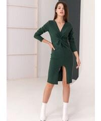 395eba0e19b4 The Fashion Project Φόρεμα με κρουαζέ σχέδιο στο μπούστο - Κυπαρισσί -  06150071001
